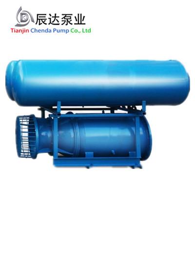 漂浮式下吸轴流泵